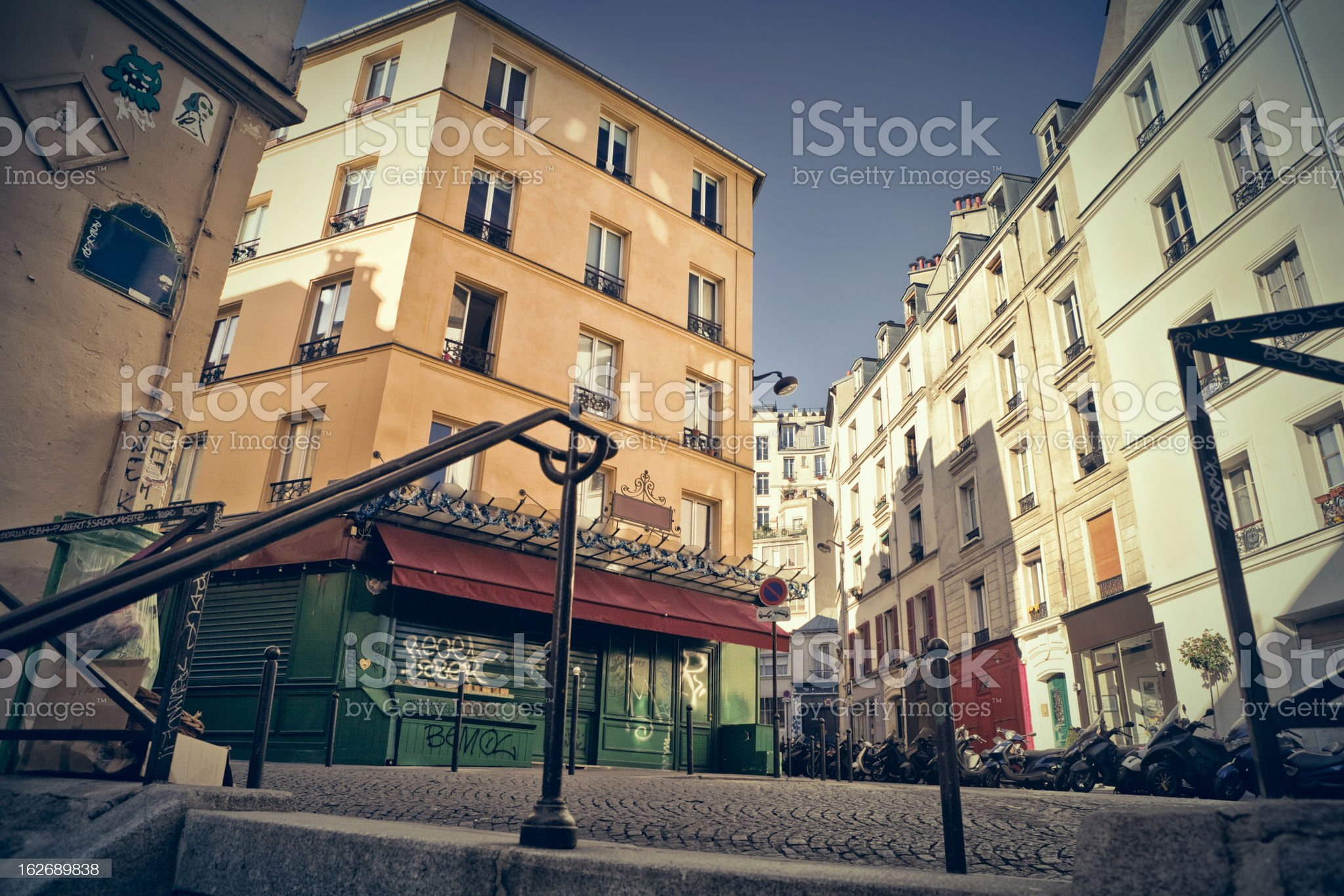 Montmartre royalty-free stock photo