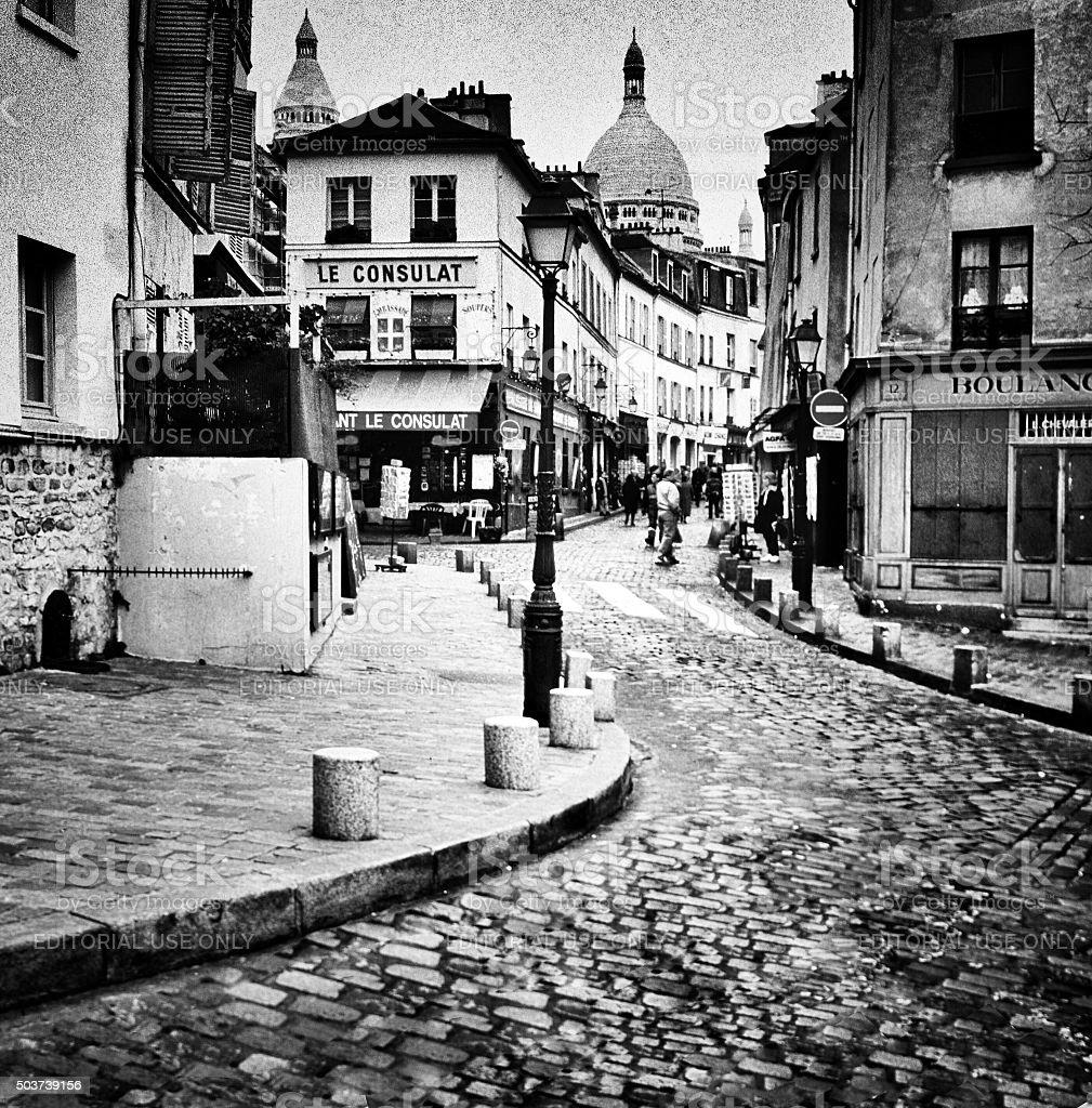Montmartre stock photo