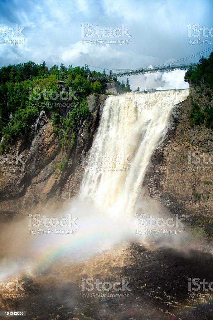 Montmorency Falls stock photo