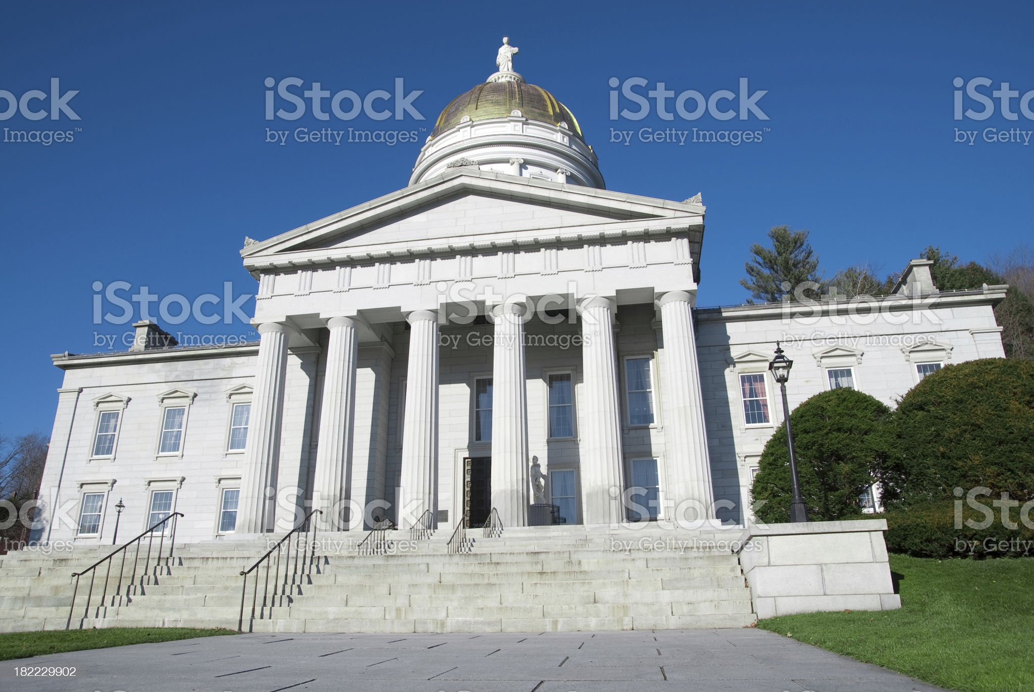 Montpelier Capital of Vermont royalty-free stock photo