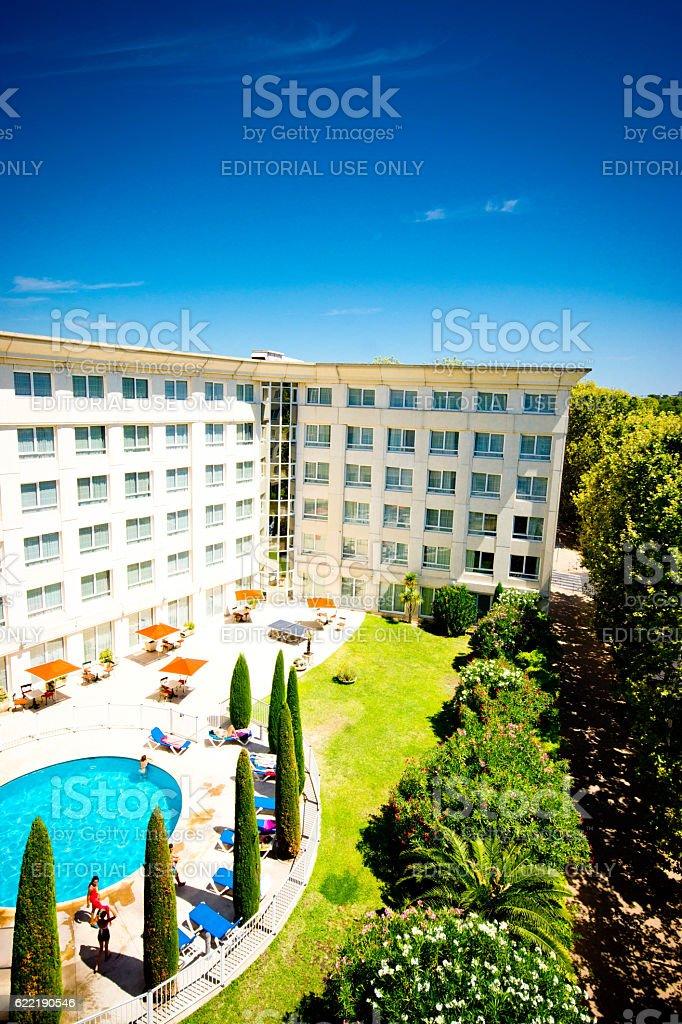 Montpellier France stock photo