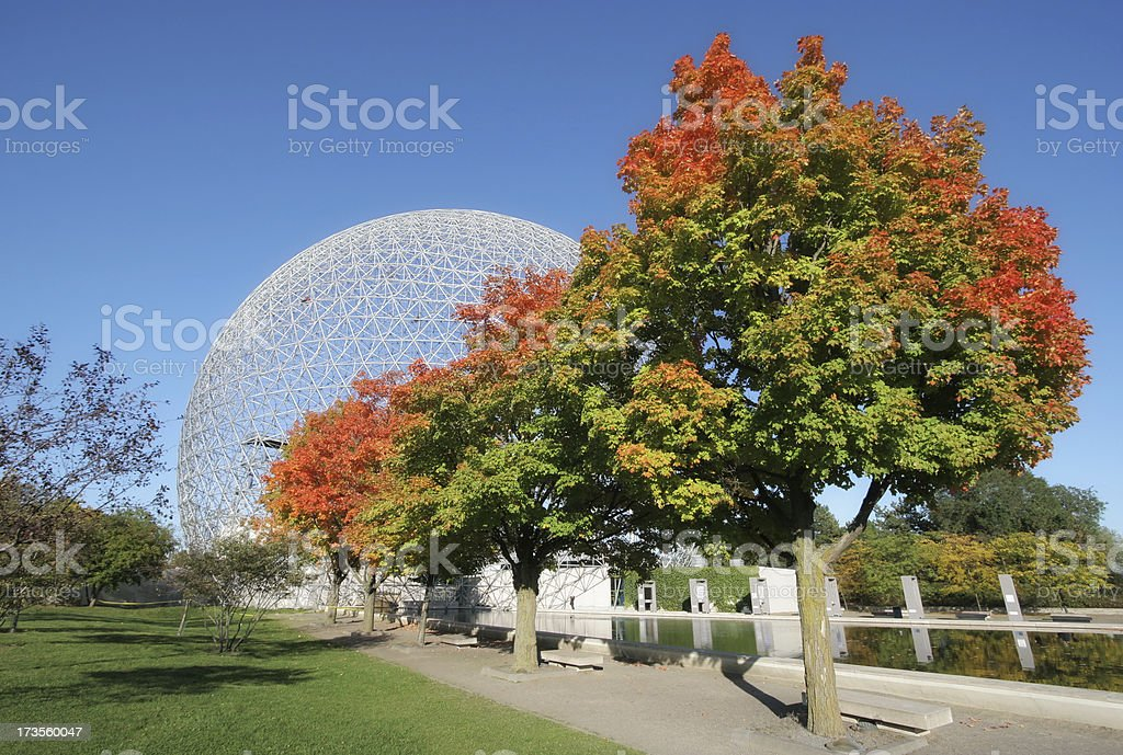 Montreal Biosphere Park royalty-free stock photo