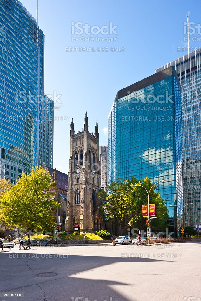 Montreal, Canada stock photo