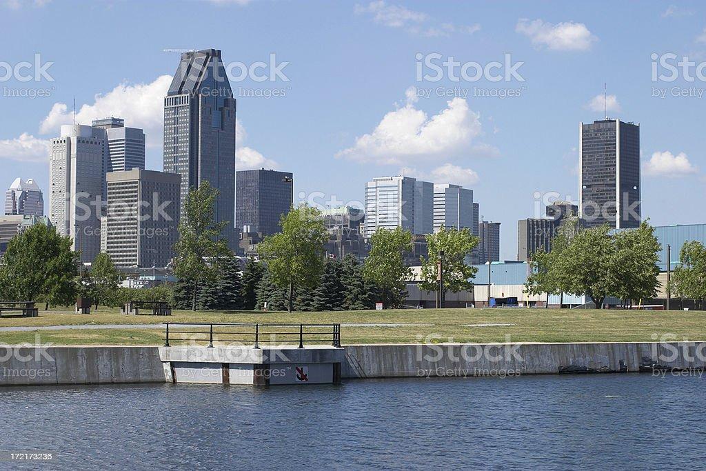 Montreal Cityscape royalty-free stock photo