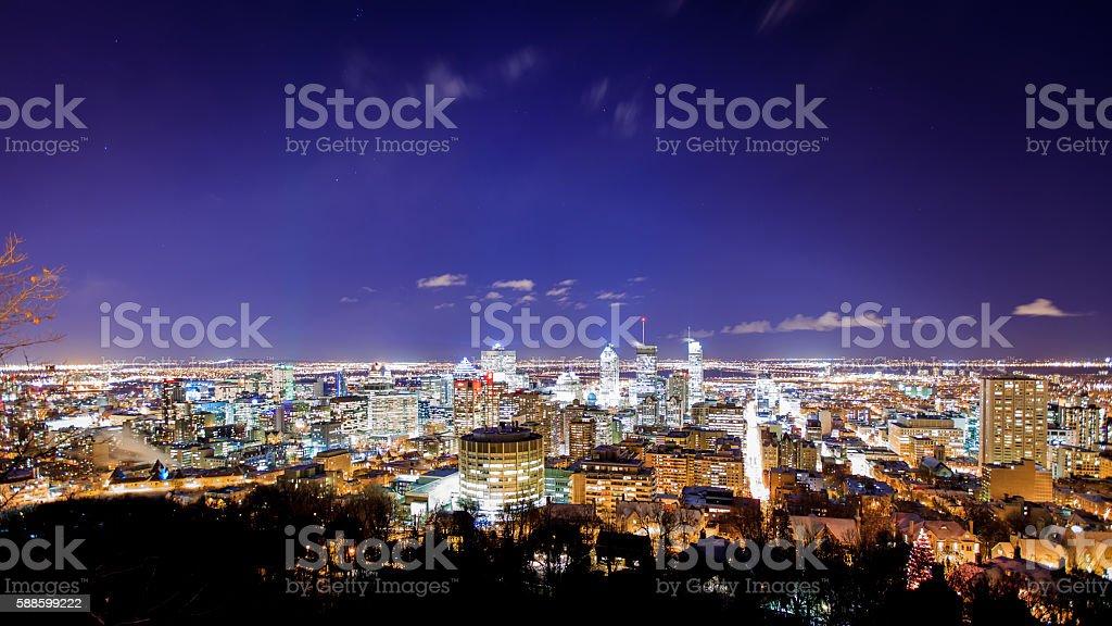 Montreal Cityscape stock photo