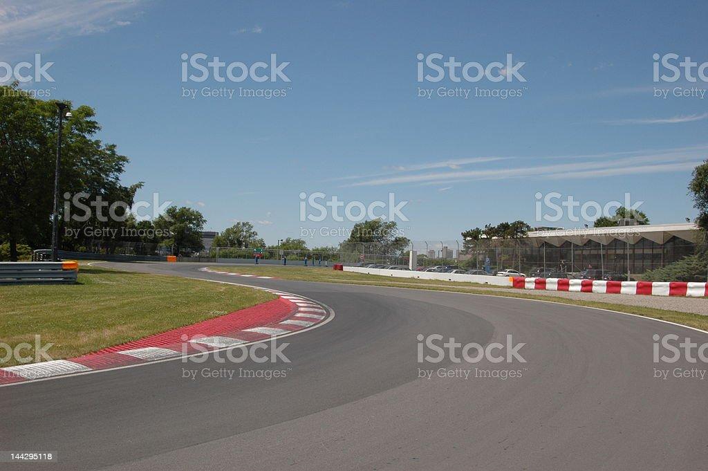 Montreal Formula one stock photo