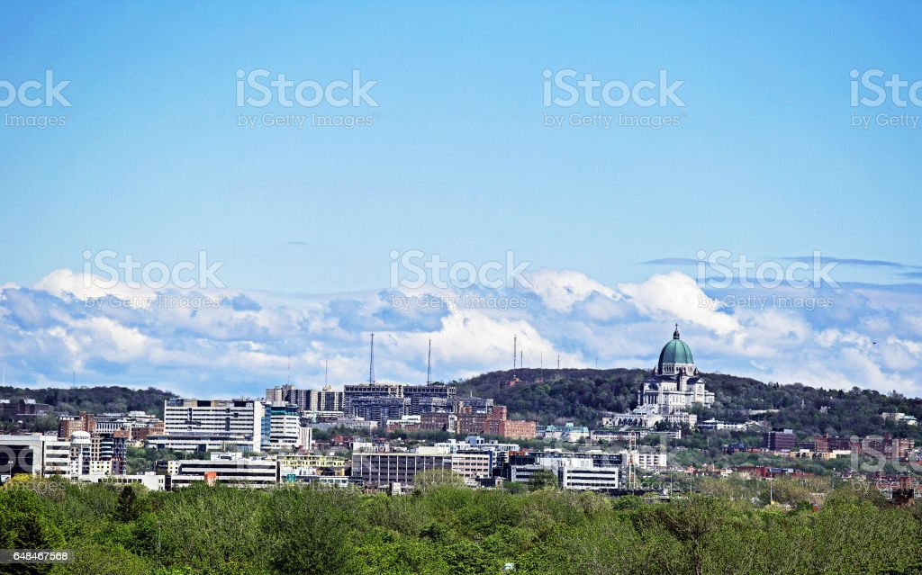Montreal north face stock photo