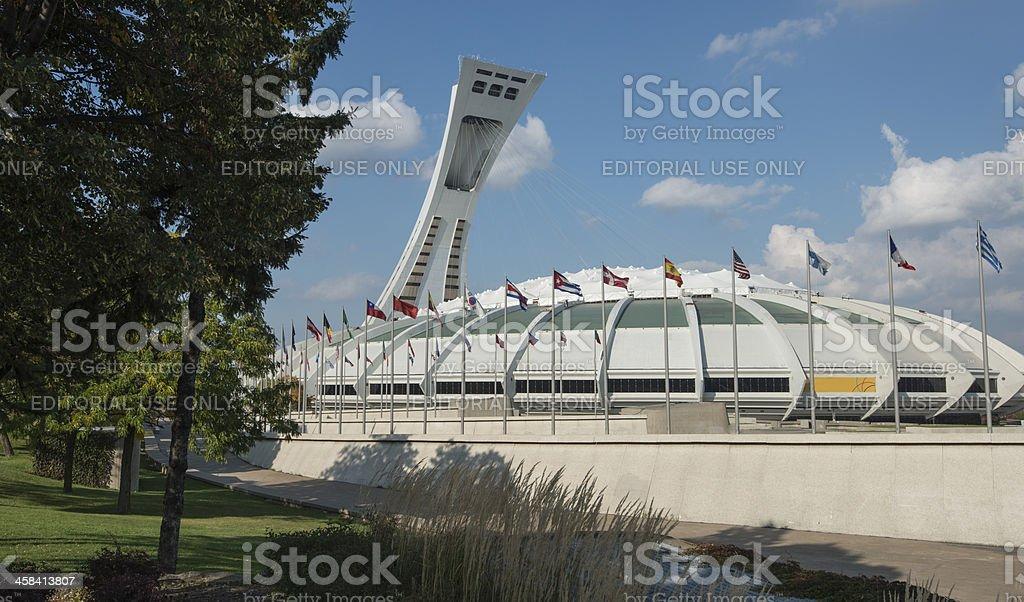 Montreal, Olympic Stadium, Canada, Quebec royalty-free stock photo