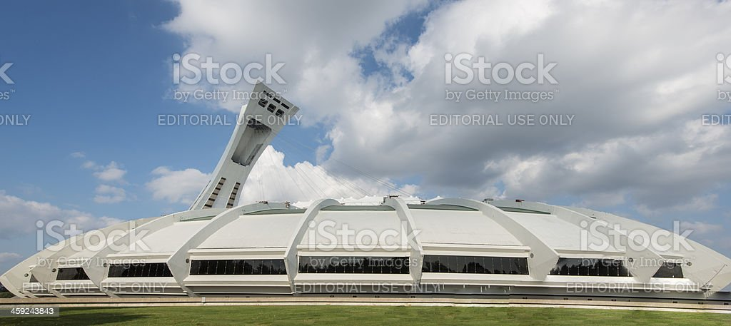 Montreal, Olympic Stadium, Canada, Quebec royalty-free stock photo