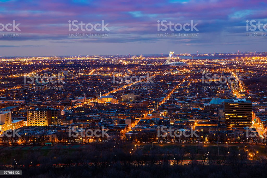 Montreal stock photo