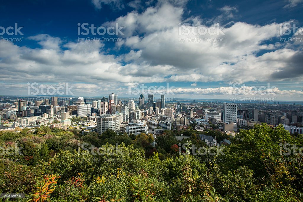 Montreal, Quebec, Canada stock photo