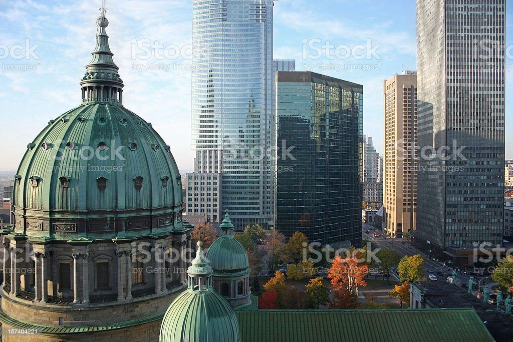 Montreal scenic stock photo