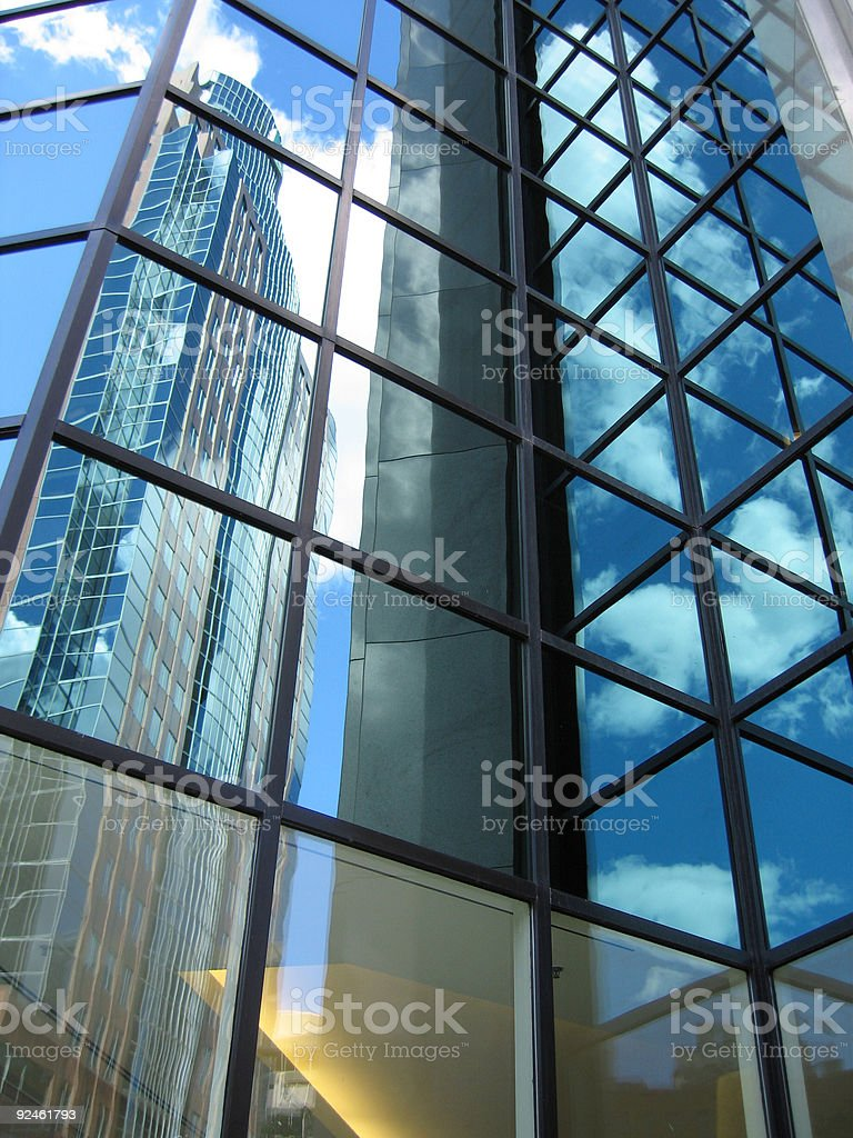 Montreal Skyscraper royalty-free stock photo
