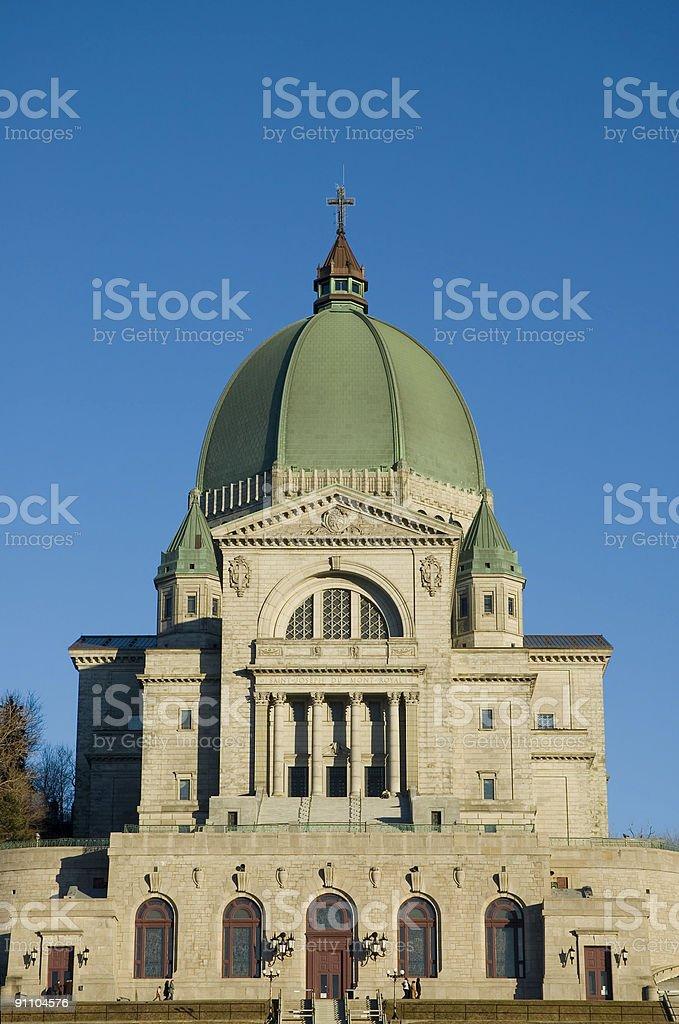 Montreal's St-Joseph Oratory stock photo