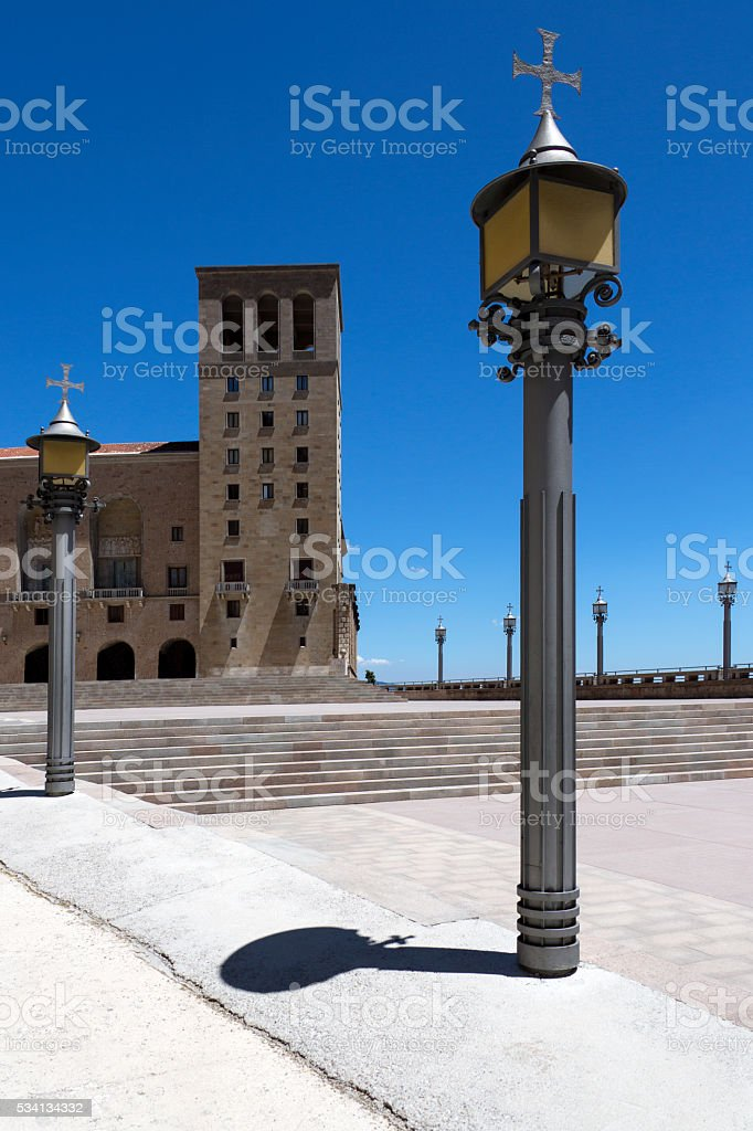 Montserrat - Catalonia - Spain stock photo