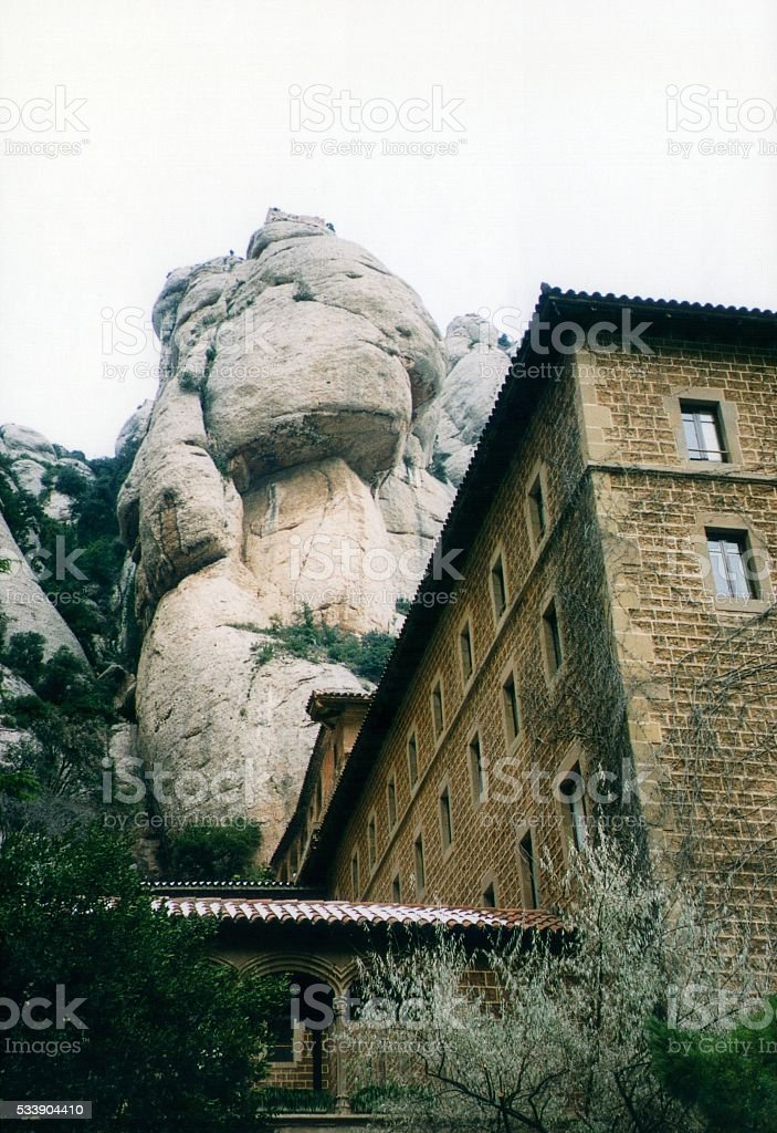 Montserrat monastery, Catalonia, Spain stock photo