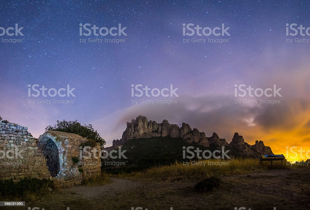 Montserrat stock photo
