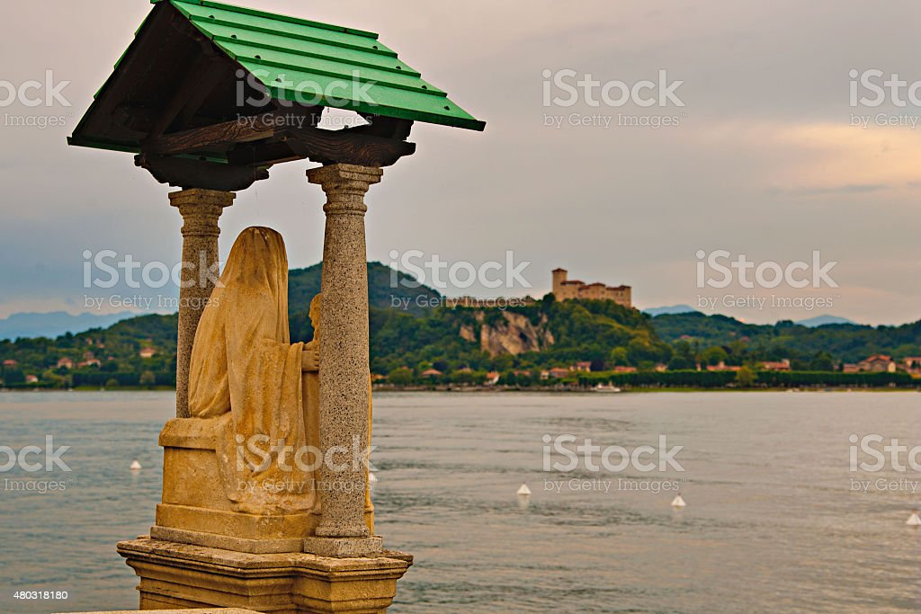 monumen in Italy royalty-free stock photo