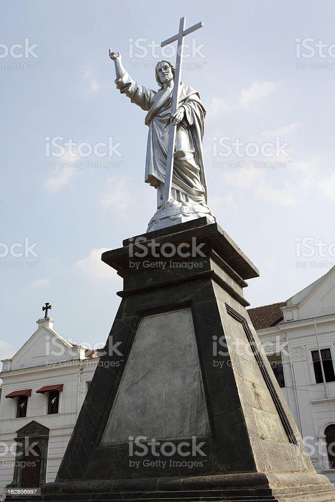 Monument at Bishop Palace royalty-free stock photo