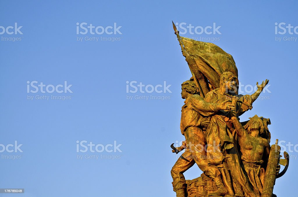 Monument at Rome, Italy stock photo