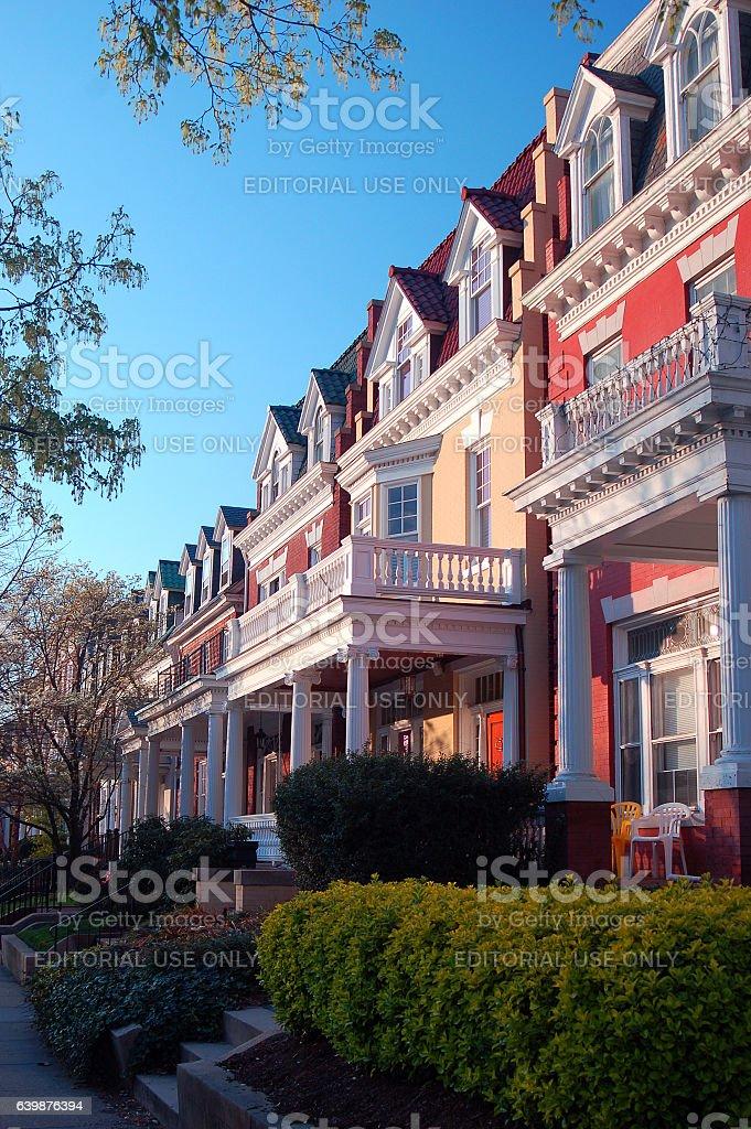 Monument Avenue, Richmond, Virginia stock photo