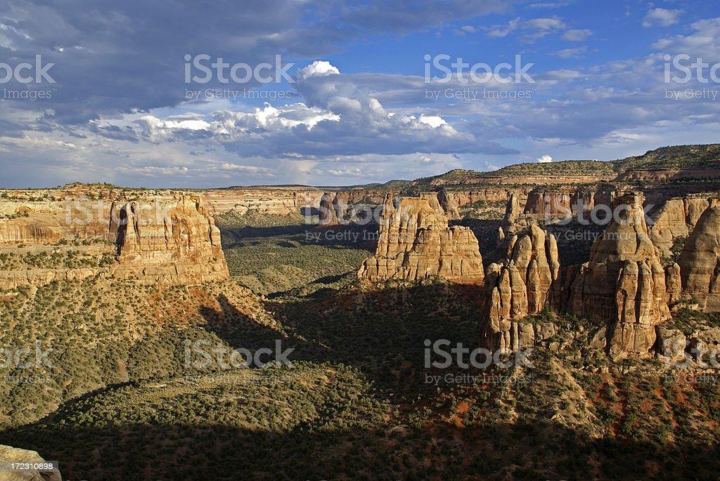 Monument Canyon stock photo