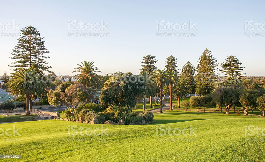 Monument Hill in Fremantle stock photo