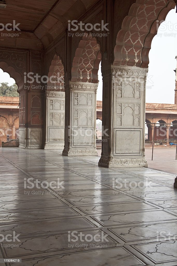 Monument in India royalty-free stock photo