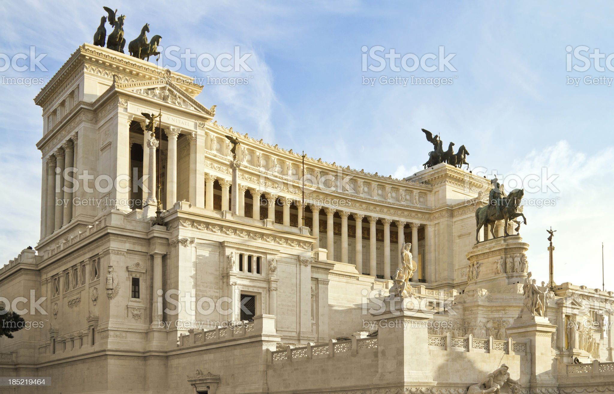 Monument in Rome royalty-free stock photo