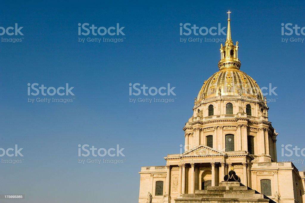 Monument Les Invalides Paris France royalty-free stock photo