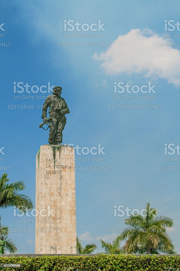 Monument of Che Guevara stock photo