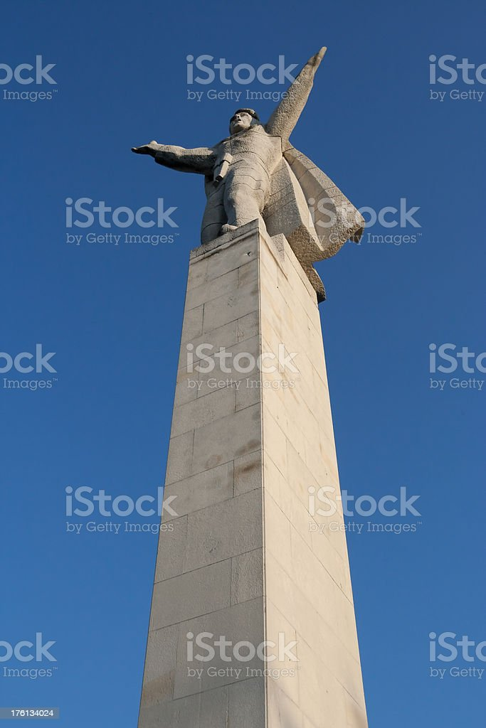 Monument of Communism stock photo