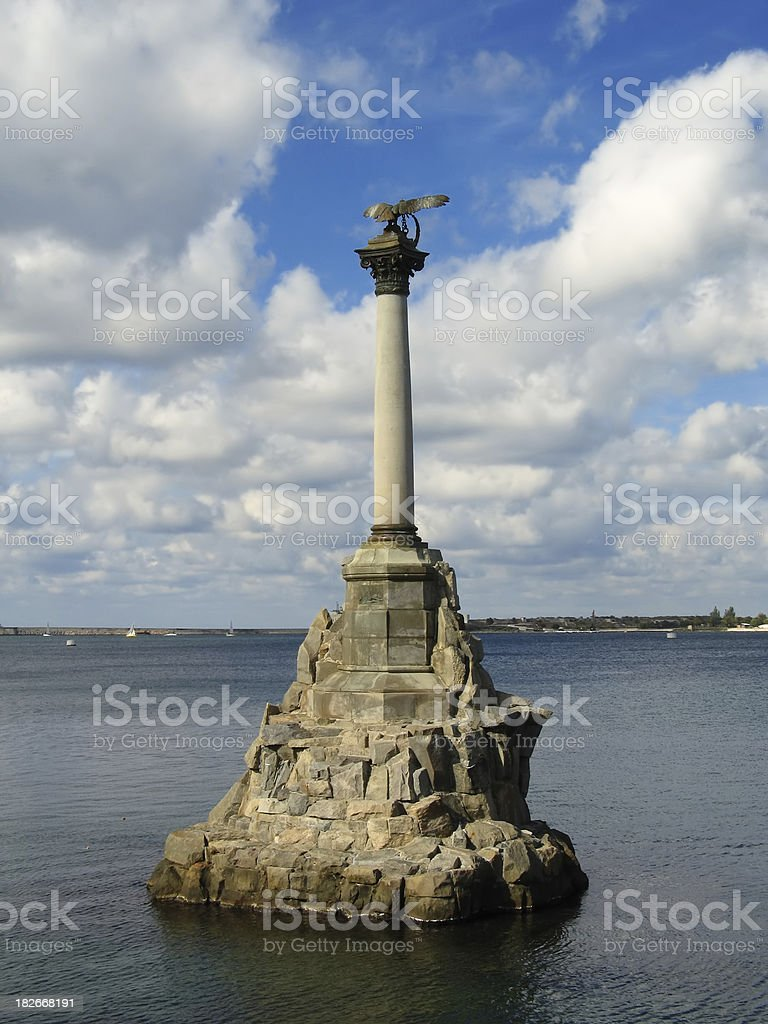 Monument Of Honour royalty-free stock photo