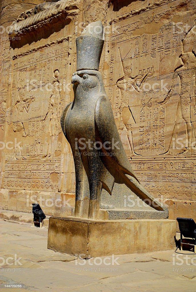 Monument of Horus stock photo