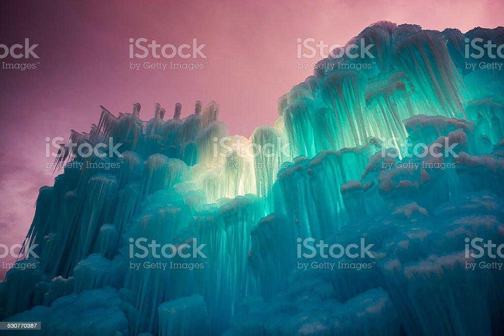 monument of ice stock photo