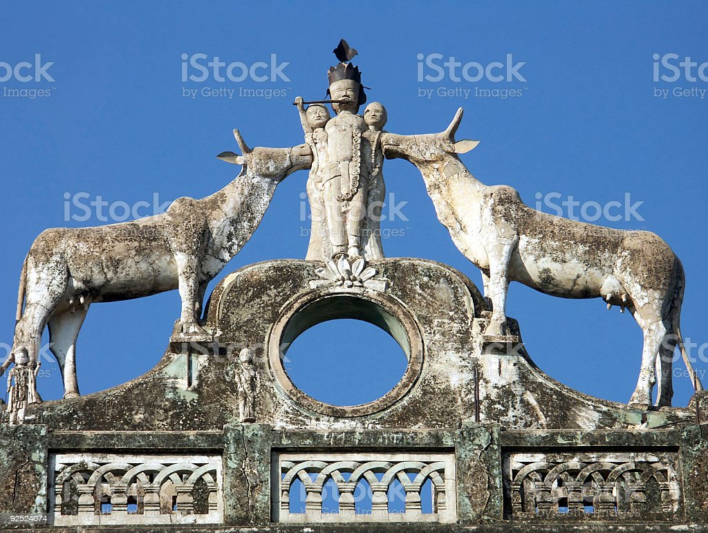 Monument of Sonthalia Gate royalty-free stock photo