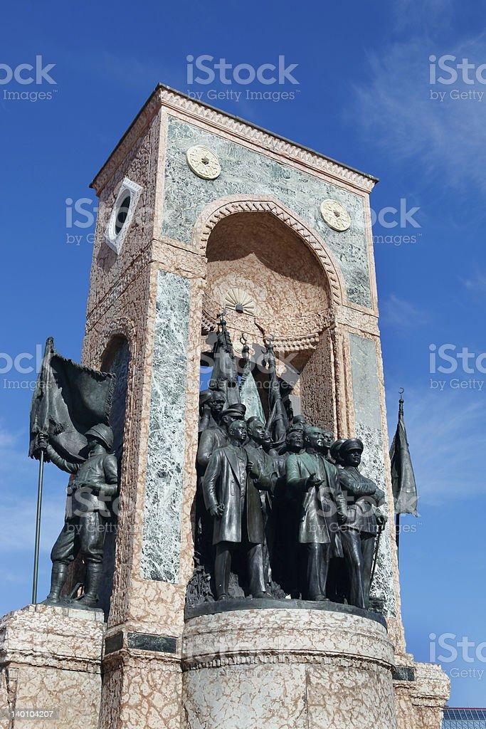 Monument of the Republic stock photo