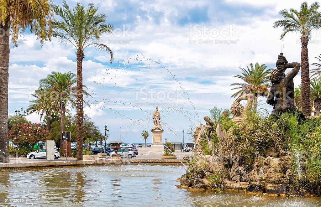 Monument of Victor Emmanuel II stock photo