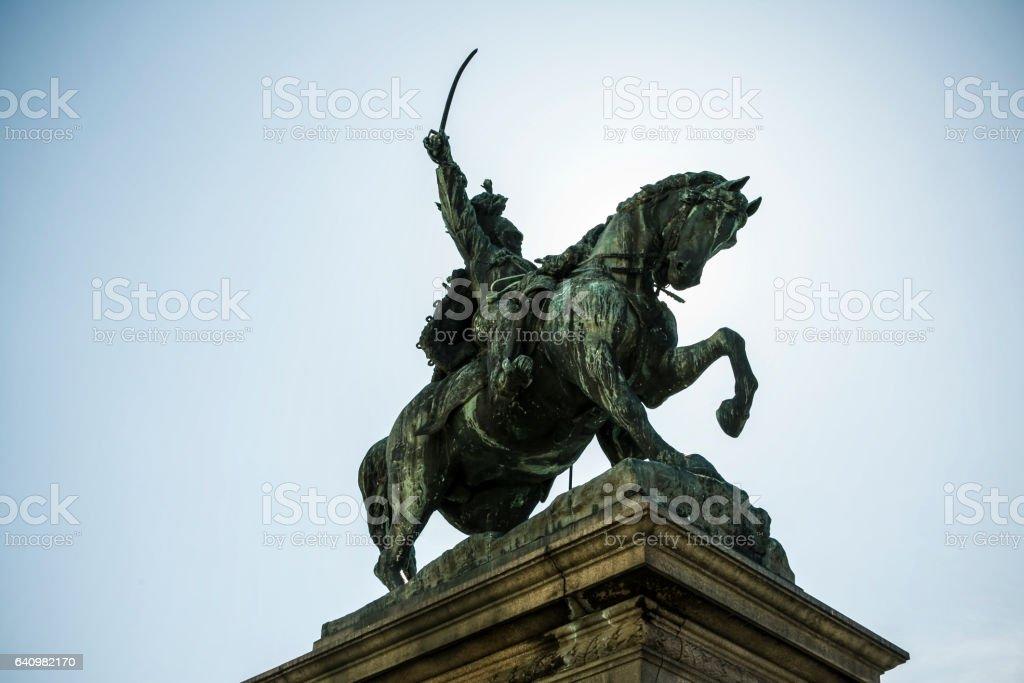 Monument of Vittorio Emanuele II Venice stock photo