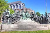 Monument painters Hubert and Jan van Eyck