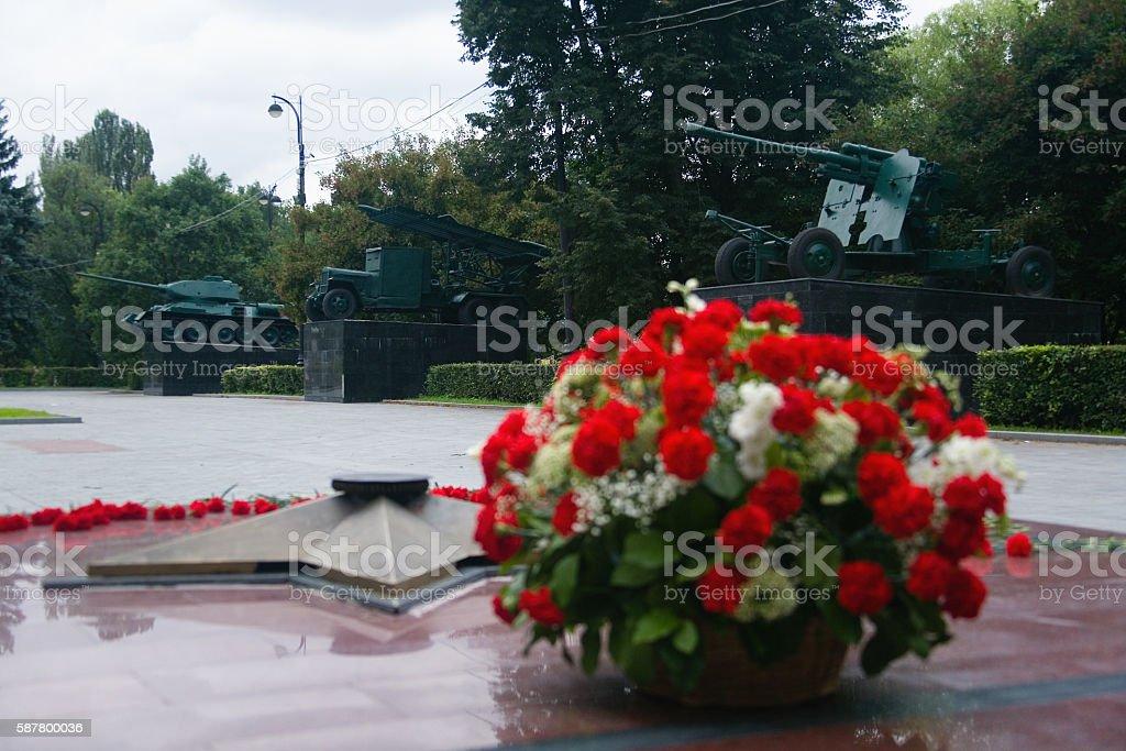 Monument. stock photo
