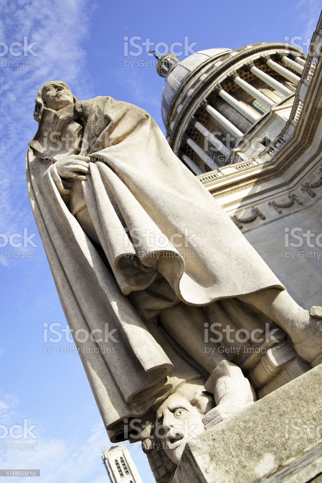 Monument Pierre Corneille royalty-free stock photo