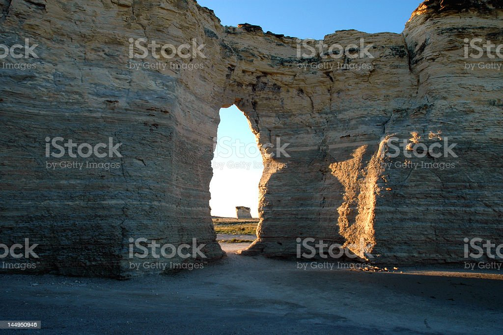 Monument Rocks royalty-free stock photo