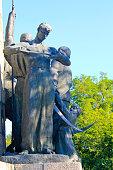 Monument to heroes of liberation war in Chigirin, Ukraine