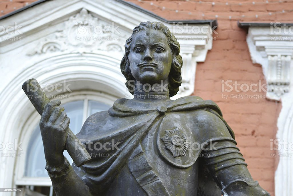 Monument to Peter the Great royalty-free stock photo