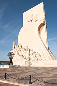 Monument to the Discoveries in Lisbon in Portugal