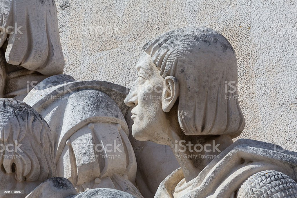 Monument to the Discoveries, Lisbon, Portugal stock photo