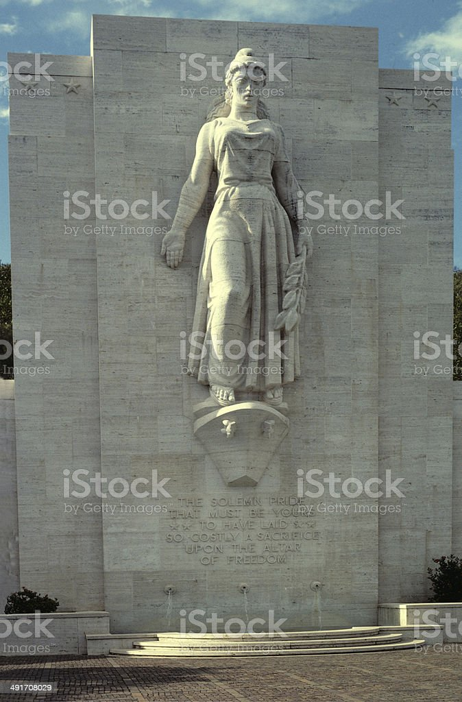 Monument To The Fallen stock photo