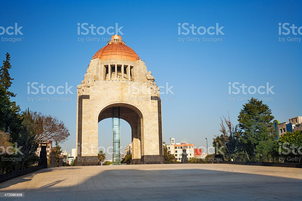 Monument to the Revolution, Mexico city downtown stock photo