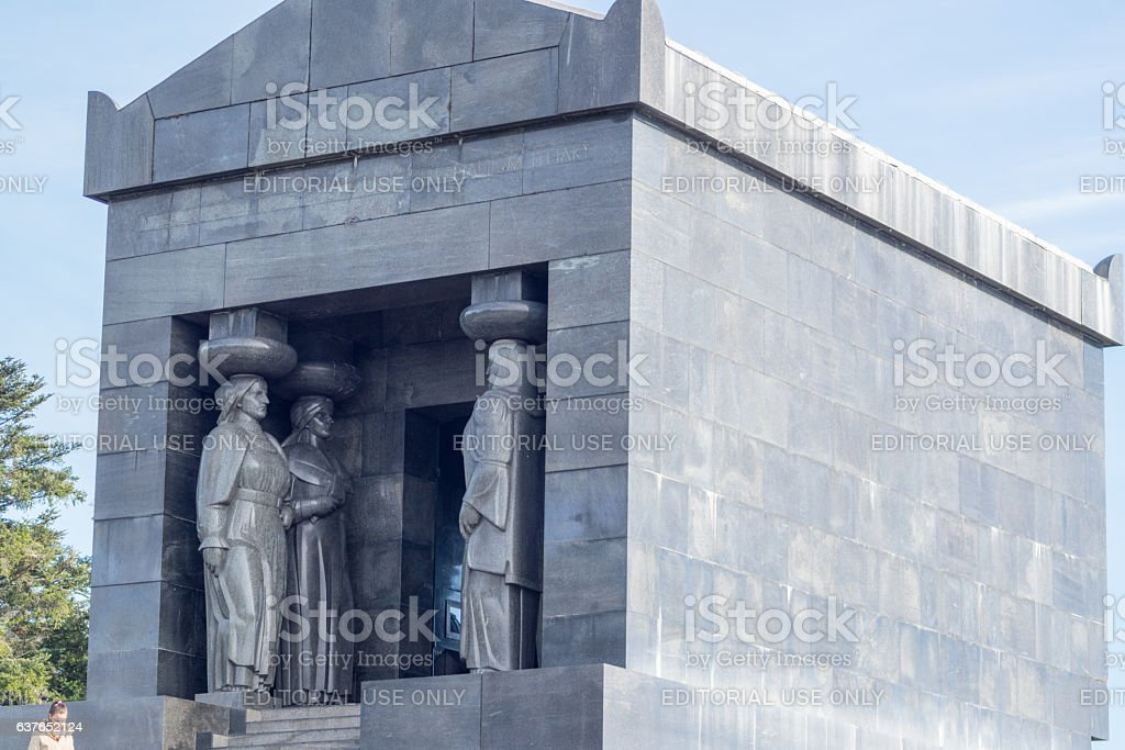Monument to the Unknown Hero stock photo